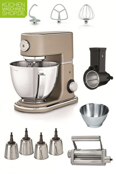 Die WMF Profi-Plus Küchenmaschine mit unserem Super-Paket in der Übersicht