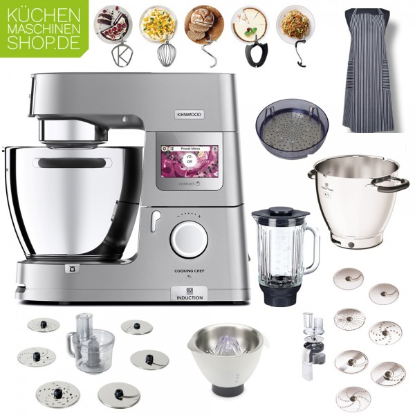 Profi-Paket Kenwood KCL 95 Cooking Chef XL Connect