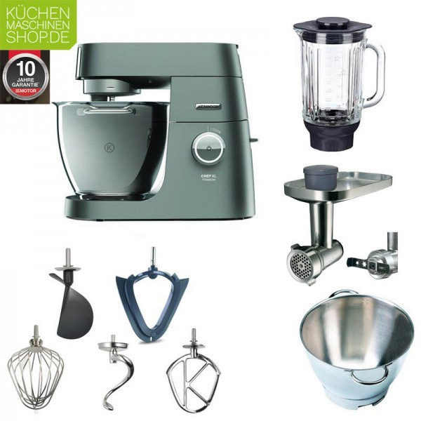 Winter Paket Kenwood Chef XL Titanium KVL 8320S Küchenmaschine