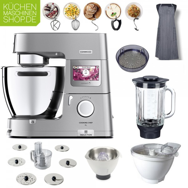 Sommer-Paket Kenwood KCL 95 Cooking Chef XL Connect