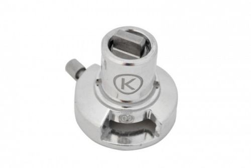 Der Adapter für den Twist Anschluss älterer Kenwood Maschinen
