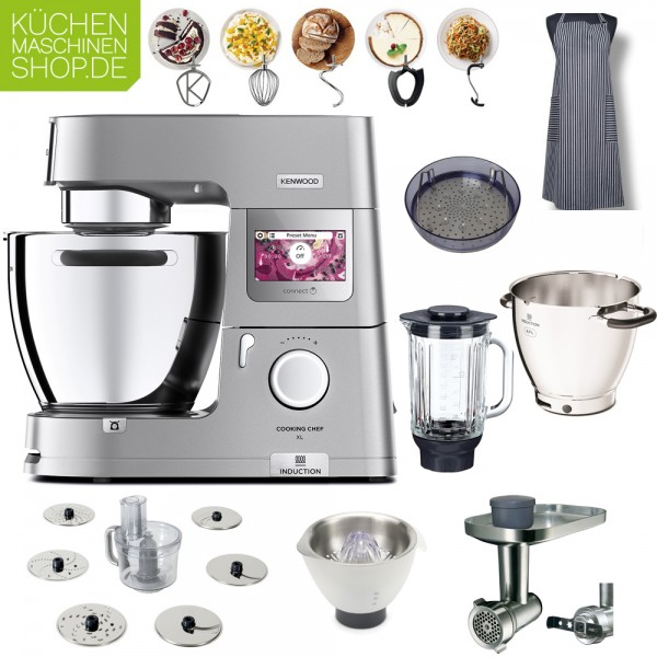 Mega-Paket Kenwood KCL 95 Cooking Chef XL Connect