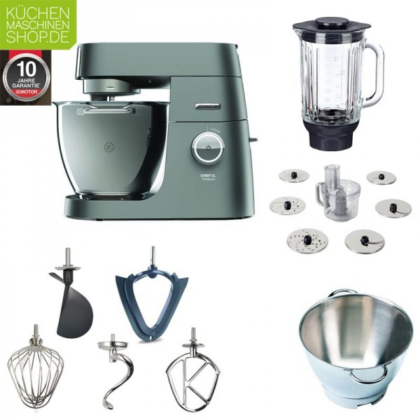 Multi Paket Kenwood Chef XL Titanium KVL 8320S Küchenmaschine mit Deutscher Garantie