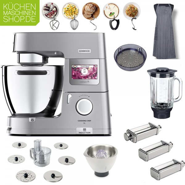 Pasta Deluxe-Paket Kenwood KCL 95 Cooking Chef XL Connect