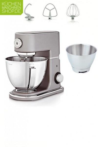 Steel Grey: eine perfekte Farbe für jede Küche. Hier kommt die WMF Profi Plus hervorragend zur Geltung