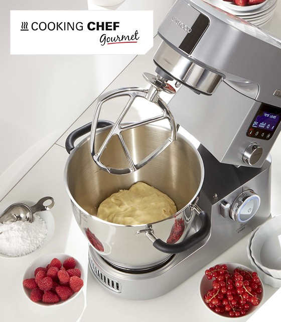 Kenwood KCC 9061 S Cooking Chef Gourmet Timer mit Slow