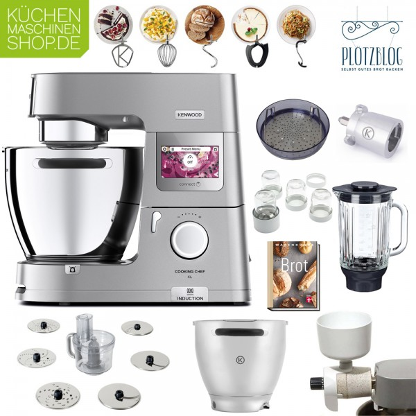 Brotback-Paket Kenwood KCL 95 Cooking Chef XL Connect