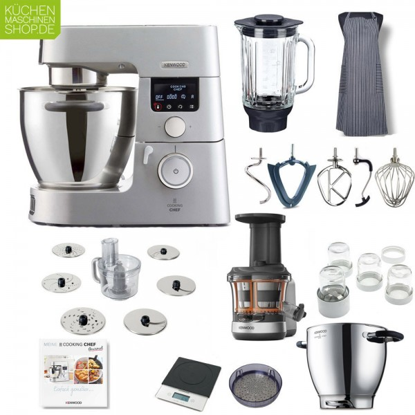 Slow Juicer Paket Kenwood KCC 9061 S Cooking Chef Gourmet Timer