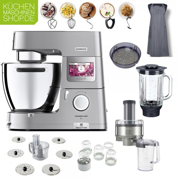 Entsafter-Paket Kenwood KCL 95 Cooking Chef XL Connect