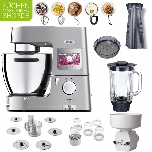 Fitness-Paket Kenwood KCL 95 Cooking Chef XL Connect