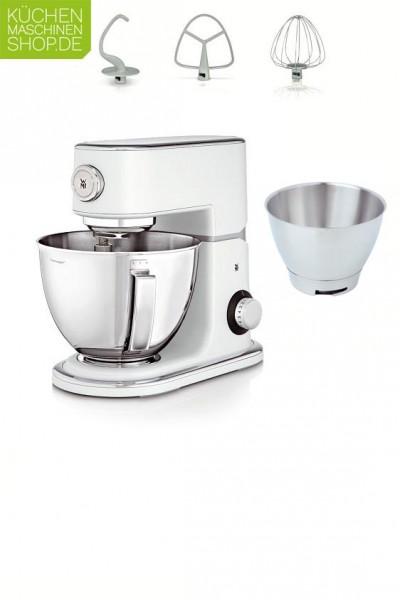WMF Profi Plus Küchenmaschine in pearl white mit Starter-Paket