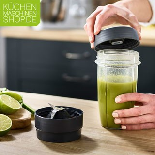 Kenwood Smoothie Maker KAH 740 PL Trinkbecher to Go mit Schlagwerk