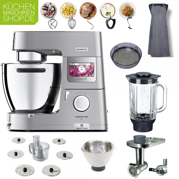 Winter-Paket Kenwood KCL 95 Cooking Chef XL Connect