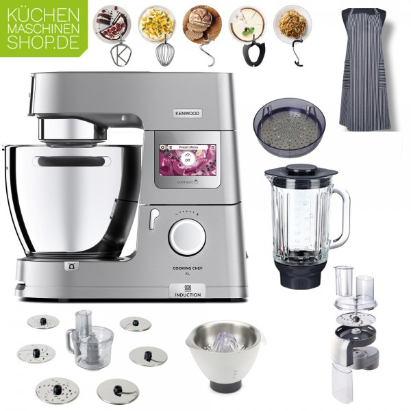 Raspel-Paket Kenwood KCL 95 Cooking Chef XL Connect