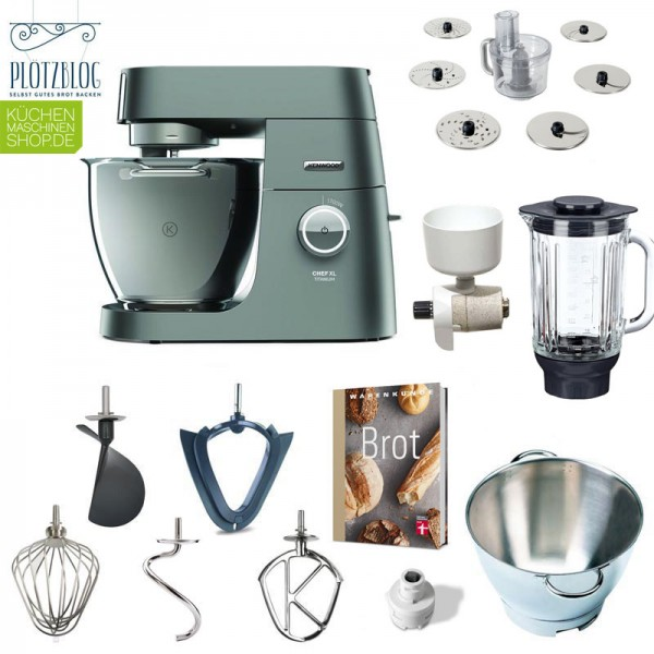 Brotback-Paket Kenwood KVL 80 8320S Chef XL Titanium